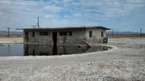 A Closer Look Abandoned building near the Salton Sea Southern California