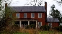 A closer view of abandoned house in Virginia