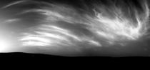 A cloudy day on Mars Noctilucent clouds over Gale Crater as seen by NASAs Curiosity Rover on May th mission Sol