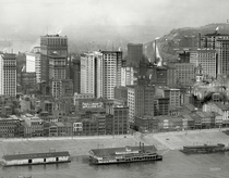 A cluster of early skyscrapers in Pittsburgh Pennsylvania  x-post from rHistoryPorn
