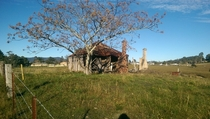 A completely dilapidated house in NSW Australia x