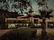 A contemporary house in Rabat Morocco - I took the picture with my phone an did the edit using Lightroom