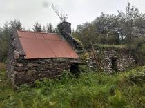 A cottage on the side of the highway Ring of Kerry Ireland