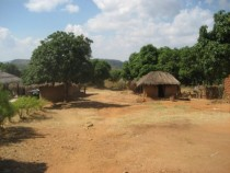 A courtyard in Mpakati Neno District Malawi