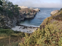 A Cove in California