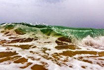 A Crashing Wave in South Florida