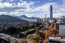 A crisp day in Santiago de Chile