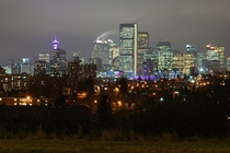 A Crisp Fall Evening in Calgary