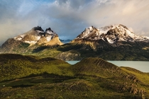 A crisp summer morning in Chilean Patagonia