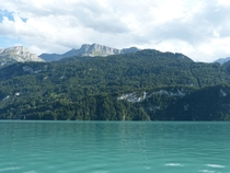 A cruise on Lake Brienz Switzerland