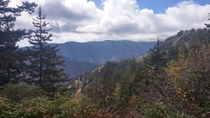 A day last October in Tennessee Mount LeConte Great Smoky Mountain National Park