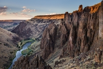 A deep river canyon cuts through the Owyhee Uplands in a remote desert corner of southwest Idaho Photo by Aaron Cowan  x-post rEarthOffTheBeatenPath