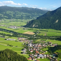A delightful little village of Wiesing Austria situated in the Unterinntaler