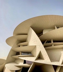 A Desert Rose Crystal Formation for the Qatar National Museum