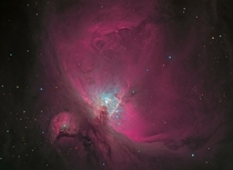 A detailed look at the core of the Orion nebula