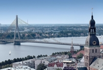 A Different Angle on Riga the Capital of Latvia