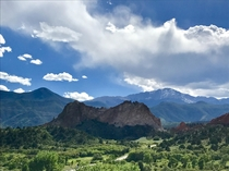A different kind of paradise at Garden of the Gods Colorado