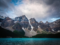 A different view of Moraine Lake