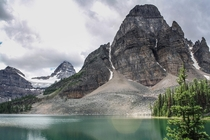 A different view of Mt Assiniboine