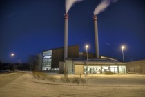 A district heating system in Lillestrm Norway