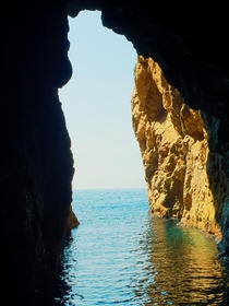 A doorway to paradise Costa Brava Spain