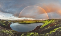 A double rainbow softens the ragged beauty of Icelands landscape  Photo by Anton Rostovskiy