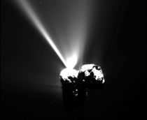 A dramatic outburst from the nucleus of Comet PChuryumov-Gerasimenko
