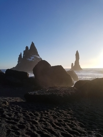 A dream come true to see black sand beaches Reynisfjara Black Sand Beach Iceland