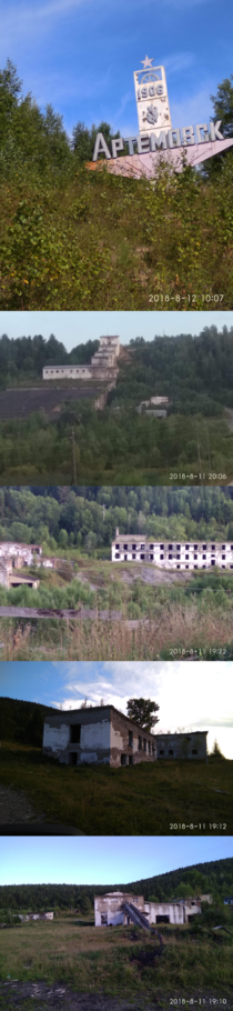 A dying city in Siberia