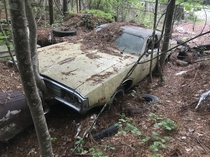A early s charger rotting away