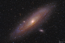 A fabulous shot of the Andromeda Galaxy by Sergey Stepanenko