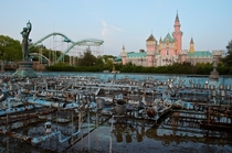 A Fake Disneyland in Japan The Nara Dreamland near Nara Japan built in  closed in