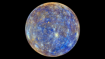 A False Colour View of Mercury  Credit NASAJohns Hopkins University Applied Physics LaboratoryCarnegie Institution of Washington