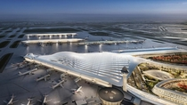A finalist design for the upcoming OHare International Airport expansion source Chicago Department of Aviation