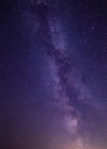 A First Attempt at Photographing the Milky Way
