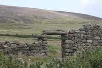 A fishermans cottage on Tory Island Co Donegal Ireland