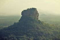 A foggy day in Sigiriya Sri Lanka