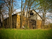 A forgotten barn in Osage County Oklahoma