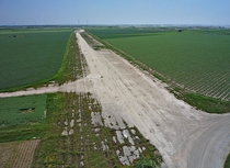 A former Airstrip in Austria used by the Luftwaffe in WWII