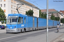 A Freight Tram in Dresden Germany