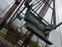 A friend of mine found an abandoned amusement park in Tennessee called Patriotic Palace