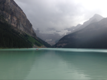 A friend of mine visited Lake Louise in Alberta CA this summer