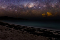 A galactic touchdown at Armstrong Bay Western Australia