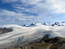 A gaze into the Pleistocene Harding Icefield - Kenai Fjords National Park AK  x