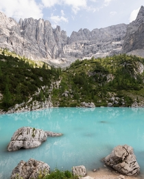 A gem in the mountains of Italy Lago di Sorapis