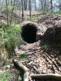 A glimpse into the unknownHaydenville Tunnel