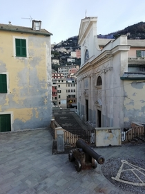 A glimpse of Camogli