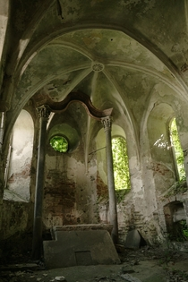 a Gothic Chapel I discovered recently - untouched for  Years x  more in the Comments