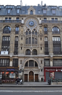 A Gothic Revival building in Paris