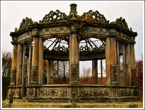 A grand conservatory lost to time by Edinburgh Nette